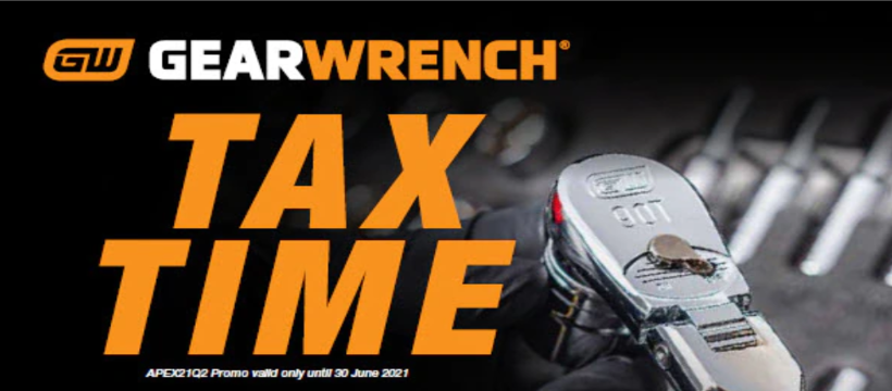 Gearwrench Tax Time Deals 2021