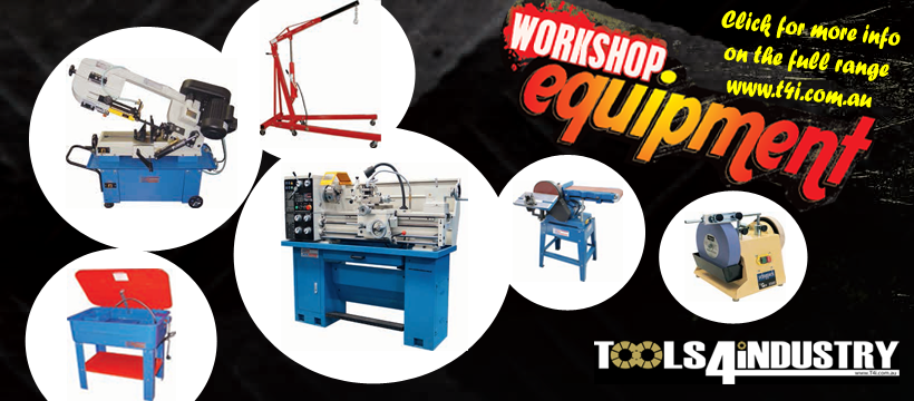 Check out the range of workshop and engineering tools available from Tools 4 Industry, through us . . . .