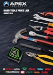 Apex Hand Tools Product Catalogue 2019
